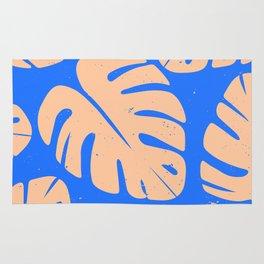 Monstera Leaf Print 5 Rug