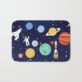 In space Bath Mat