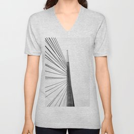 Bridge pylon Unisex V-Neck