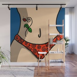 Strong Independent Woman | Veronica Nagorny Wall Mural