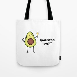 Avocado Toast Tote Bag