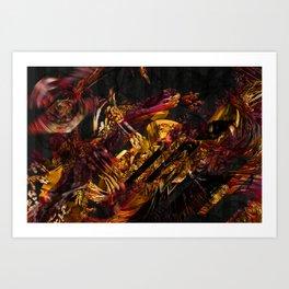 Sargas Art Print