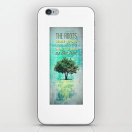 Roots of the Tree iPhone Skin