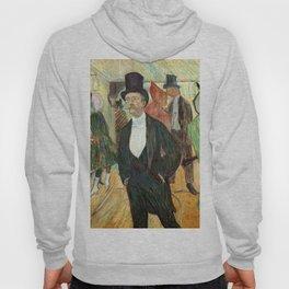 """Henri de Toulouse-Lautrec """"Monsieur Henri Fourcade au Bal de l'Opéra"""" Hoody"""