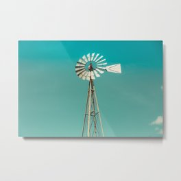 Windmill in America Metal Print