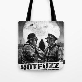 Hot Fuzz Tote Bag