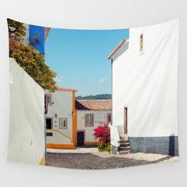 Obidos, Portugal (RR 177) Analog 6x6 odak Ektar 100 Wall Tapestry