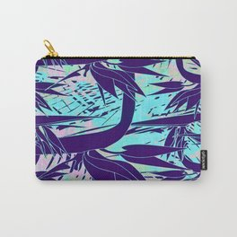 purple birds of paradise Carry-All Pouch