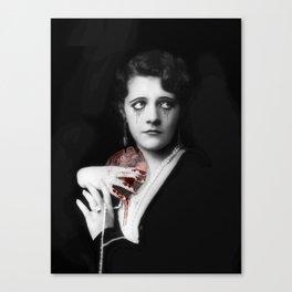 Suffering Heart Canvas Print
