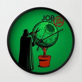 JOB OR NO JOB Wall Clock