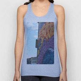 Art Central wall Unisex Tank Top
