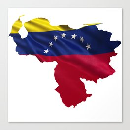Venezuela flag Canvas Print