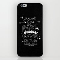 paper towns iPhone & iPod Skins featuring Paper Towns by karifree