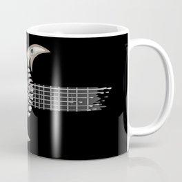 Skull Guitar Coffee Mug