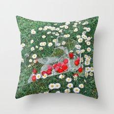Daisies & Candies Throw Pillow