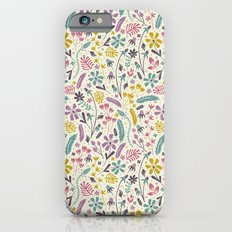 Retro Blooms (Candy) iPhone 6s Slim Case