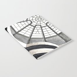 Architecture sketch of the Guggenheim Museum in New York Notebook