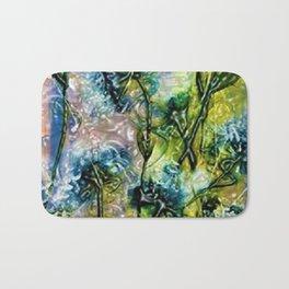 William Blake Wild Flower Panels by Jéanpaul Ferro Bath Mat