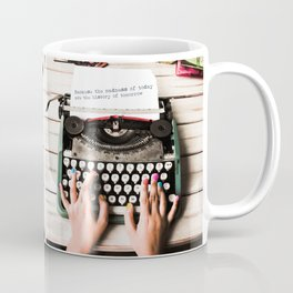 History of Tomorrow  Coffee Mug