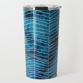 Run Mountain Blues Leggings* Travel Mug