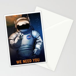 NASA Wants You Vintage Poster from 70s Moon Astronaut Artwork For Prints Posters Tshirts Bags Men Wo Stationery Cards