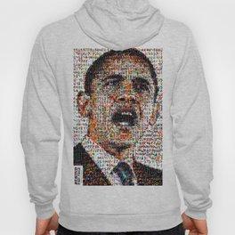 BEHIND THE FACE Obama   Superheroes & Comics Hoody