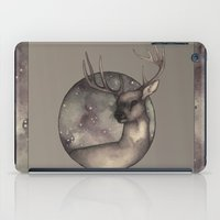 antlers iPad Cases featuring Antlers by Ericaphant