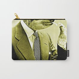 Sloth Lighting a Cigarette - Cartoon version Carry-All Pouch