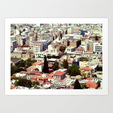 Overpopulated Art Print