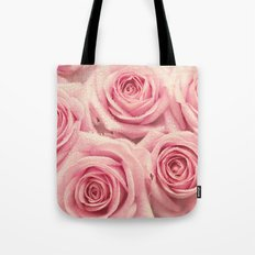For the love of pink roses Tote Bag