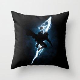 The Thunder God Returns Throw Pillow