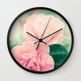 Joie de vivre - floral photography Wall Clock