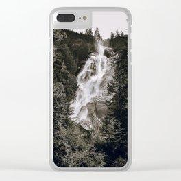Waterfall III / Canada Clear iPhone Case