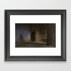 The fortress of St Nicholas Framed Art Print