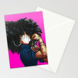 Naturally the Riveter PINK  Stationery Cards