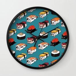 Sushi Frenchie Wall Clock