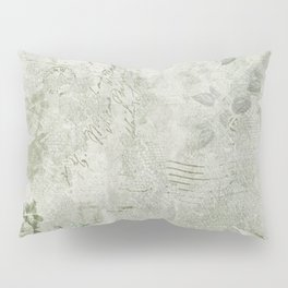 Faded Vintage Stationery Pillow Sham