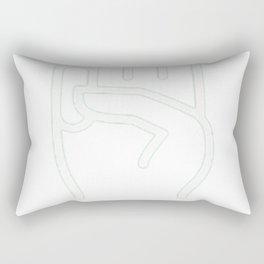 Scout's Honor Emoji Shirt Green Rectangular Pillow