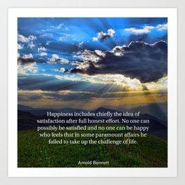 Motivational quotes Art Print