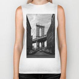 Manhattan Bridge view from Dumbo Biker Tank