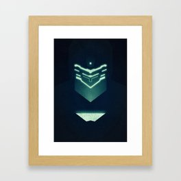 Isaac Clark / Dead Space Framed Art Print