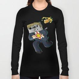Solaire of Block - Minecraft Avatar Long Sleeve T-shirt