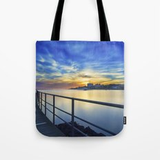 Smooth river. Tote Bag