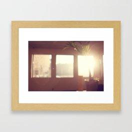 view from my window . ii Framed Art Print