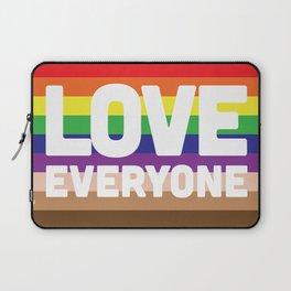 Love Everyone Flag Laptop Sleeve