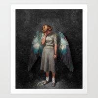 Fallen Angel (2015)  Art Print