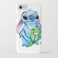 ohana iPhone & iPod Cases featuring Ohana  by Inks. MD