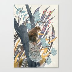 waiting for autumn Canvas Print