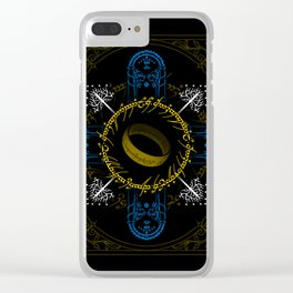 In the darkness bind them Clear iPhone Case