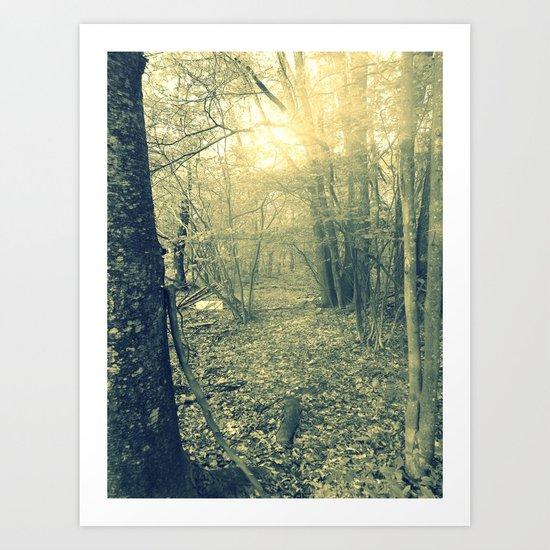 Come Find Magic Art Print